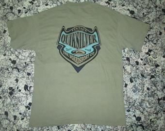 Vintage tshirt quiksilver