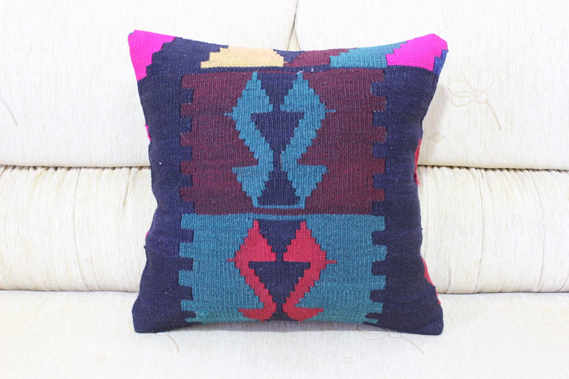 Geometric Pillow Rare Pillow Wonderfull Pillow Majestic Pillow 16x16 Aztec  Pillow Throw Pillow Patterned Pillow Handwoven