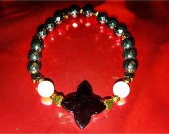 Bracelet Onyx Cupid
