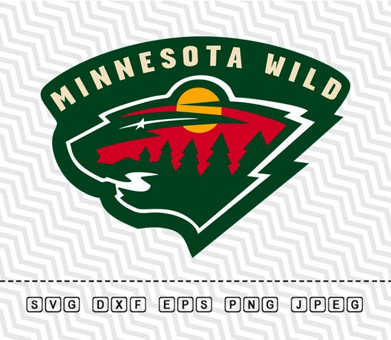 Svg minnesota wild logo vector layered cut file silhouette - Minnesota wild logo ...