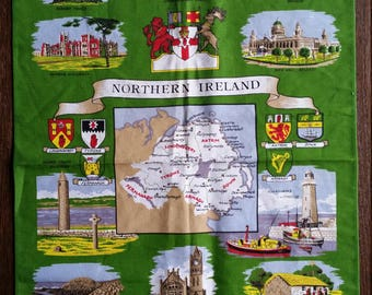 Northern Ireland Tea Towel