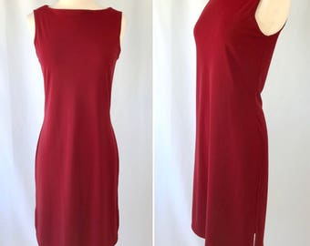 Red Sleeveless Dress | Red Party Dress | Red Party Dress |