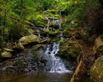 Waterfall - Landscape Photography Print