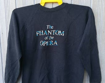 Vintage 1986 The Phantom of the Opera Sweatshirt Size XL