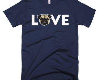 Pug Love Short-Sleeve T-Shirt