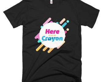 Here to get my Crayon Short-Sleeve T-Shirt