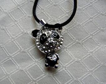 Panda Crysal Necklace