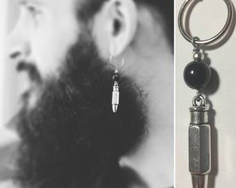 BULLET mono earring