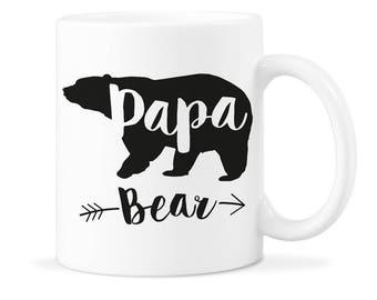 Papa Bear Mug Gift Papa Bear Dad Gift Dad Bear Mug Gift Dad Bear Mug Papa Bear Dad Mug Papa Bear Mug Dad Bear Coffee Mug Father Bear Mug Cup