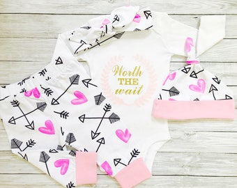 Baby Girl Coming Home Outfit, Baby Girl, Newborn Baby Girl Outfits, Newborn Girl Coming Home Outfit, Newborn Girl Outfit