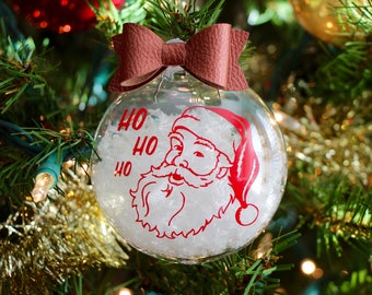 Classic Santa floating ornament