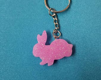 Bunny keychains. Multiple colors!