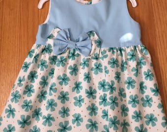 Dress, Sleeveless , Bows