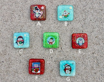 Resin Christmas Charms || *GRADE B*  || Keychain || Ornament || Cute || Perfect Gift ||