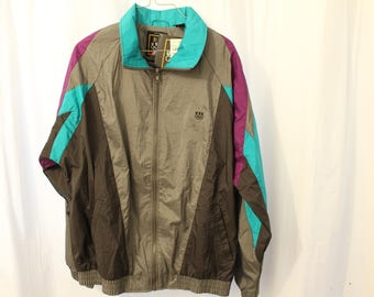 Vintage 90s DSWT USA Olympic Windbreaker - L