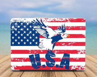 USA case MacBook Pro Retina 15 case MacBook Air 11 case MacBook Pro 13 Case MacBook 12 Case MacBook Air 13 case Laptop cover Plastic case