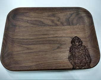 High Roller Tray with Laser Engraved Ape Design