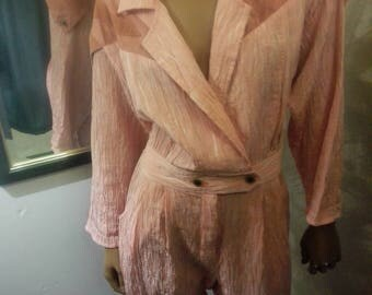 Pink powersuit Jumpsuit