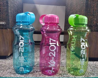 Custom water bottles and tumblers