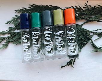 Kids Roller Bottles Collection - 10ml Clear Glass Roller Bottles