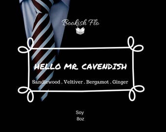 Hello Mr. Cavendish ~ Wood Wick 100% Soy Wax Candle