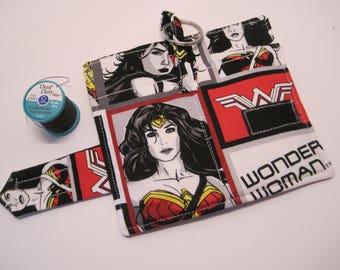 Wonder Woman cloth Wallet