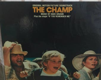 The Champ An original Motion Picture Soundtrack