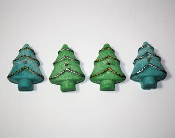 Holiday Spruce Tree (10 Candles) | Christmas Candles | Yule Candles | Holiday Decorations