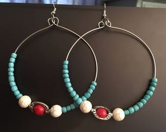 cool colors hoops
