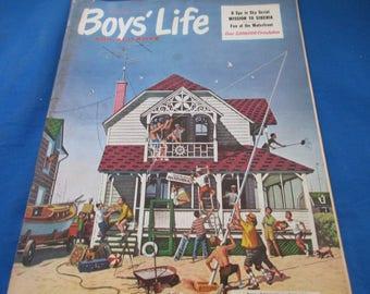 8/1960 Boys Life Magazine