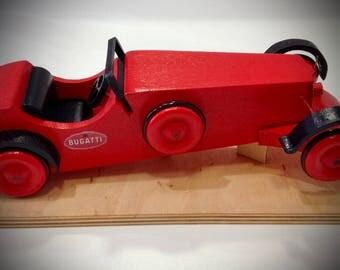Bugatti wooden fretwork