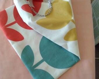 Medium sized shoe drawstring bag