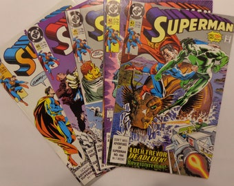 Superman 2nd Series Issues 39 through43