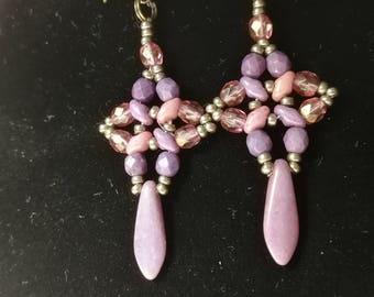 Winter romance earrings