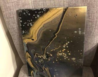 Golden Storm, 11x14