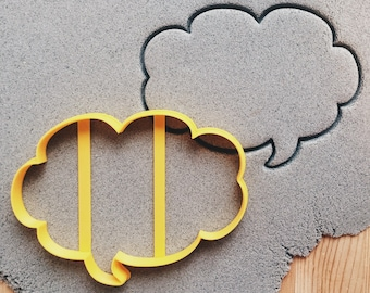 Chat bubble Cookie Cutter