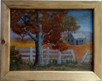 Old Ranch with frame