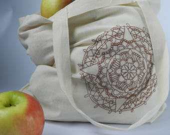 Learn Embroidery: Mandela Shopping Bag Kit