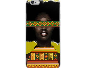 Yellow Fro iPhone Case
