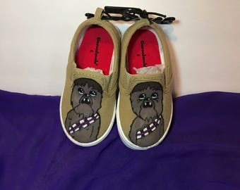 Chewbacca size 6 toddler shoes
