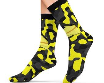 Military Lemon Sublimation Socks