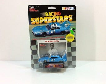 Vintage 1991 Collectible Richard Petty Racing Superstars Diecast Car