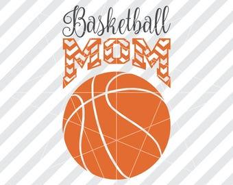 Basketball mom svg, Basketball mom dxf, Basketball svg, Basketball cut files, Basketball mom, Basketball mom shirt, Sports mom svg