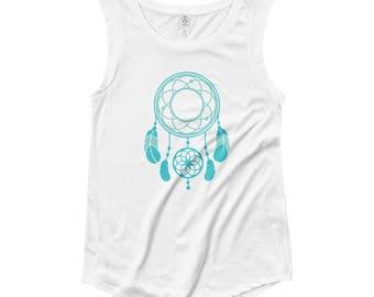 Dreamcatcher Cap Sleeve T-Shirt