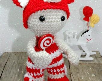Daniele - Handmade amigurumi doll
