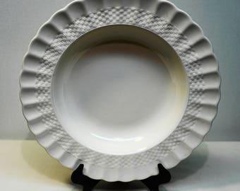 """SPODE RIM SOUP Bowl in """"Chelsea Wicker"""" Pattern: #C1890  T"""