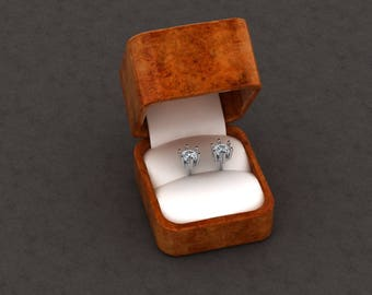 Silver stud Earrings 5mm