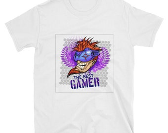 The Best Gamer - short sleeve unisex t-shirt