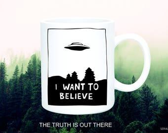 Mug/ X-Files/ Serials/Cups/Movies