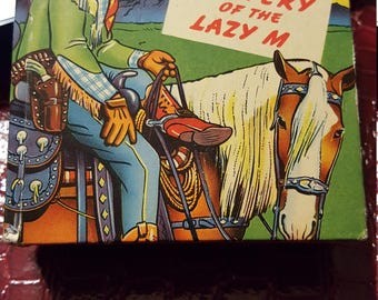 Roy Rogers and the Mystery of the Lazy M #1462 / 1949 The Better Little Book-FINE
